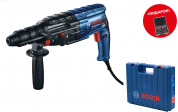 Перфоратор BOSCH GBH 240 F in case+11pcs SDS Plus-Set